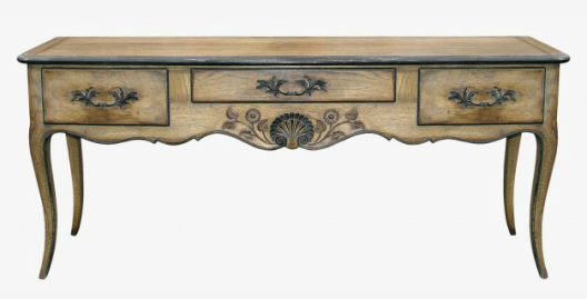 Table de Chasse Regence Console by Moissonnier